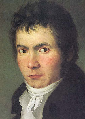 Painting of Beethoven in 1804