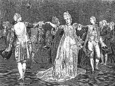 Etching of a Minuet